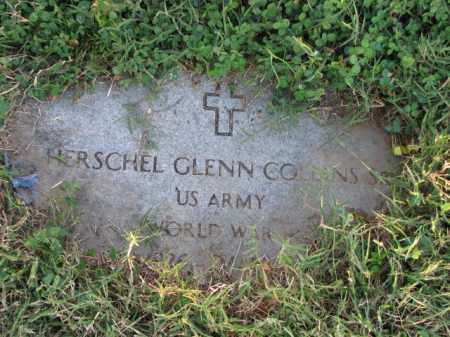 COLLINS, SR. (VETERAN WWII), HERSCHEL GLENN - Poinsett County, Arkansas | HERSCHEL GLENN COLLINS, SR. (VETERAN WWII) - Arkansas Gravestone Photos