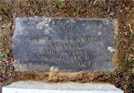 CONDRA  (VETERAN WWII), ARVEL L. - Poinsett County, Arkansas | ARVEL L. CONDRA  (VETERAN WWII) - Arkansas Gravestone Photos