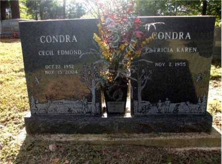 CONDRA, CECIL EDMOND - Poinsett County, Arkansas | CECIL EDMOND CONDRA - Arkansas Gravestone Photos