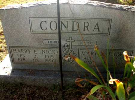 "CONDRA, HARRY E. ""NICK"" - Poinsett County, Arkansas 