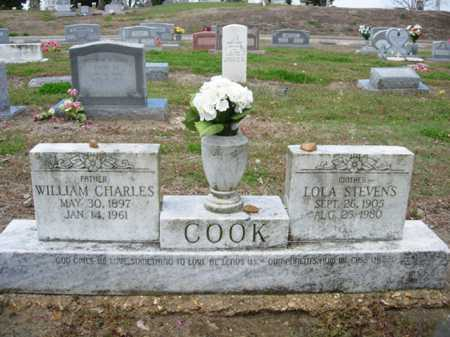 STEVENS COOK, LOLA - Poinsett County, Arkansas | LOLA STEVENS COOK - Arkansas Gravestone Photos