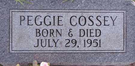 COSSEY, PEGGIE - Poinsett County, Arkansas | PEGGIE COSSEY - Arkansas Gravestone Photos