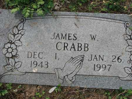 CRABB, JAMES W. - Poinsett County, Arkansas | JAMES W. CRABB - Arkansas Gravestone Photos