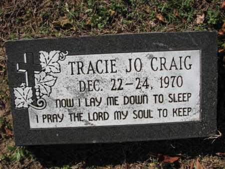 CRAIG, TRACIE JO. - Poinsett County, Arkansas | TRACIE JO. CRAIG - Arkansas Gravestone Photos