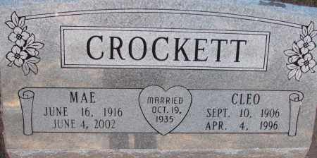 CROCKETT, CLEO - Poinsett County, Arkansas | CLEO CROCKETT - Arkansas Gravestone Photos