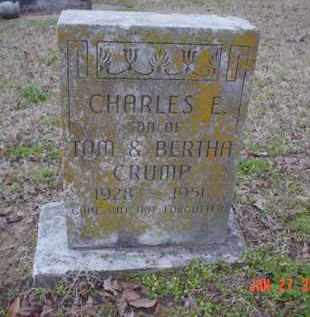CRUMP, CHARLES E. - Poinsett County, Arkansas | CHARLES E. CRUMP - Arkansas Gravestone Photos