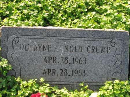 CRUMP, DEWAYNE ARNOLD - Poinsett County, Arkansas | DEWAYNE ARNOLD CRUMP - Arkansas Gravestone Photos