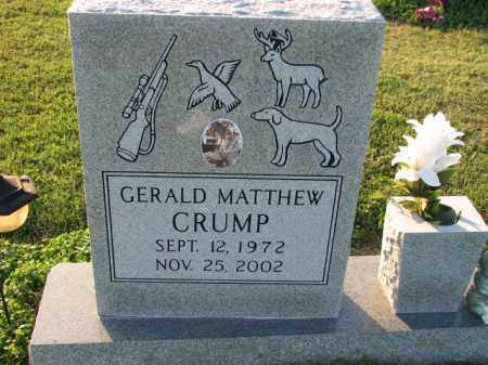 CRUMP, GERALD MATTHEW - Poinsett County, Arkansas | GERALD MATTHEW CRUMP - Arkansas Gravestone Photos