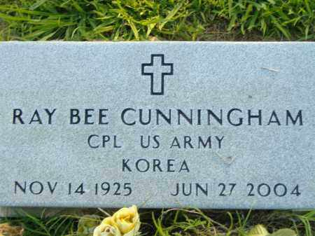 CUNNINGHAM  (VETERAN KOR), RAY BEE - Poinsett County, Arkansas | RAY BEE CUNNINGHAM  (VETERAN KOR) - Arkansas Gravestone Photos