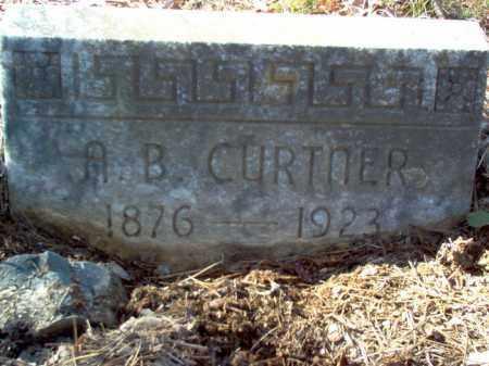 CURTNER, ABNER BYRON - Poinsett County, Arkansas   ABNER BYRON CURTNER - Arkansas Gravestone Photos