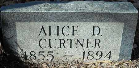 DICKENS CURTNER, ALICE - Poinsett County, Arkansas | ALICE DICKENS CURTNER - Arkansas Gravestone Photos