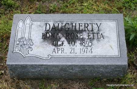 ETTA DAUGHERTY, EDNA - Poinsett County, Arkansas | EDNA ETTA DAUGHERTY - Arkansas Gravestone Photos
