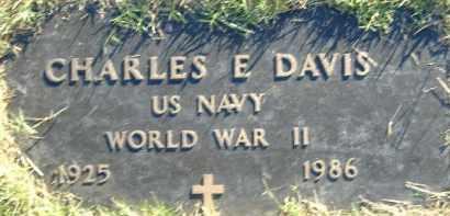DAVIS  (VETERAN WWII), CHARLES E. - Poinsett County, Arkansas | CHARLES E. DAVIS  (VETERAN WWII) - Arkansas Gravestone Photos