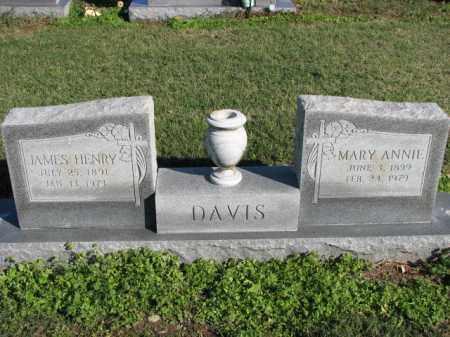 DAVIS, JAMES HENRY - Poinsett County, Arkansas | JAMES HENRY DAVIS - Arkansas Gravestone Photos