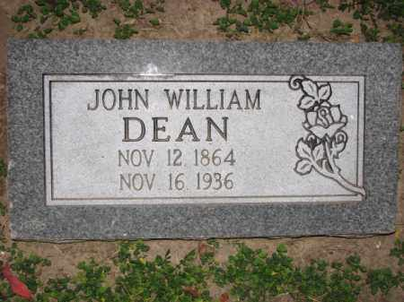 DEAN, JOHN WILLIAM - Poinsett County, Arkansas | JOHN WILLIAM DEAN - Arkansas Gravestone Photos