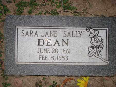 "DEAN, SARA JANE ""SALLY"" - Poinsett County, Arkansas 