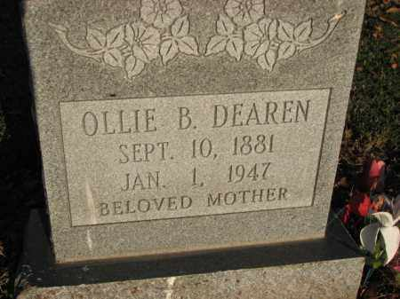 DEAREN, OLLIE B. - Poinsett County, Arkansas | OLLIE B. DEAREN - Arkansas Gravestone Photos