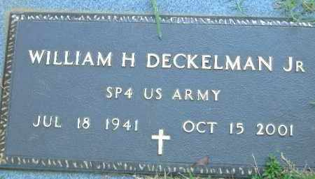 DECKELMAN, JR.   (VETERAN), WILLIAM H. - Poinsett County, Arkansas | WILLIAM H. DECKELMAN, JR.   (VETERAN) - Arkansas Gravestone Photos