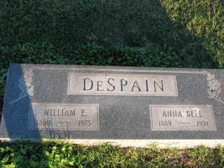 DESPAIN, WILLIAM E. - Poinsett County, Arkansas | WILLIAM E. DESPAIN - Arkansas Gravestone Photos