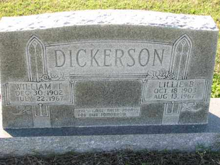 DICKERSON, LILLIE B. - Poinsett County, Arkansas | LILLIE B. DICKERSON - Arkansas Gravestone Photos