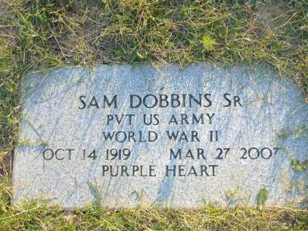 DOBBINS, SR  (VETERAN WWII), SAM - Poinsett County, Arkansas | SAM DOBBINS, SR  (VETERAN WWII) - Arkansas Gravestone Photos