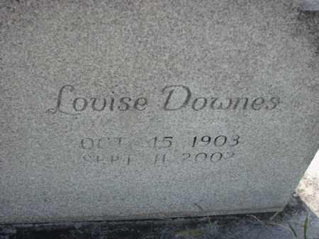 DOWNES, LOUISE - Poinsett County, Arkansas | LOUISE DOWNES - Arkansas Gravestone Photos