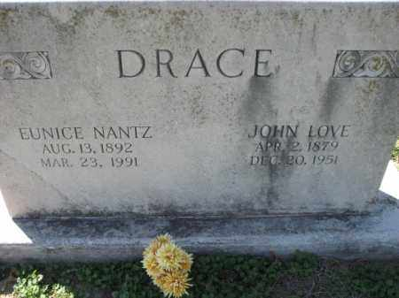 NANTZ DRACE, EUNICE - Poinsett County, Arkansas | EUNICE NANTZ DRACE - Arkansas Gravestone Photos