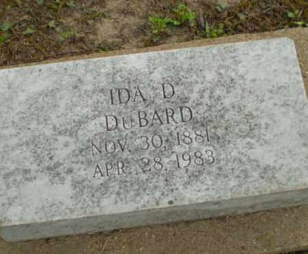 DUBARD, IDA D - Poinsett County, Arkansas | IDA D DUBARD - Arkansas Gravestone Photos