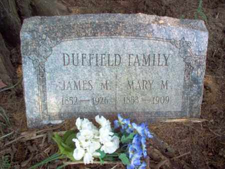 DUFFIELD, JAMES M - Poinsett County, Arkansas | JAMES M DUFFIELD - Arkansas Gravestone Photos