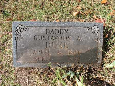 DUKE, GUSTAVOUS A. - Poinsett County, Arkansas | GUSTAVOUS A. DUKE - Arkansas Gravestone Photos