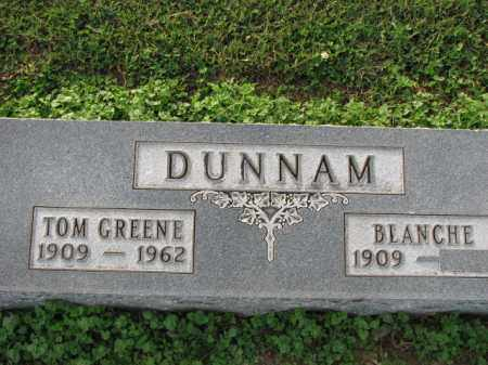 DUNNAM, TOM GREENE - Poinsett County, Arkansas | TOM GREENE DUNNAM - Arkansas Gravestone Photos