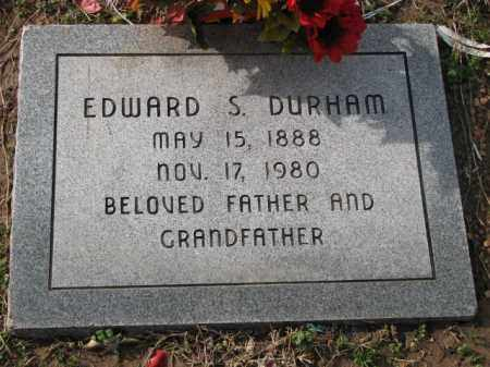 DURHAM, EDWARD S. - Poinsett County, Arkansas | EDWARD S. DURHAM - Arkansas Gravestone Photos