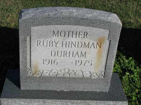 DURHAM, RUBY - Poinsett County, Arkansas | RUBY DURHAM - Arkansas Gravestone Photos
