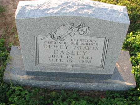 EASLEY, DEWEY TRAVIS - Poinsett County, Arkansas | DEWEY TRAVIS EASLEY - Arkansas Gravestone Photos