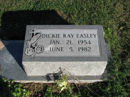 EASLEY, DICKIE RAY - Poinsett County, Arkansas | DICKIE RAY EASLEY - Arkansas Gravestone Photos