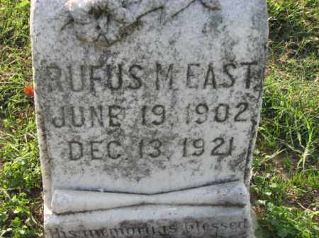 EAST, RUFUS M. - Poinsett County, Arkansas | RUFUS M. EAST - Arkansas Gravestone Photos