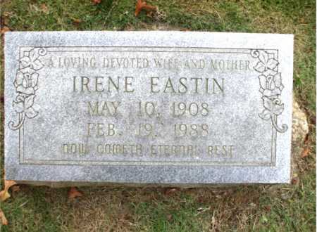 EASTIN, IRENE - Poinsett County, Arkansas | IRENE EASTIN - Arkansas Gravestone Photos