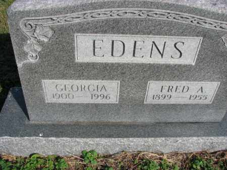 EDENS, GEORGIA - Poinsett County, Arkansas | GEORGIA EDENS - Arkansas Gravestone Photos