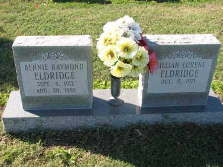 ELDRIDGE, BENNIE RAYMOND - Poinsett County, Arkansas | BENNIE RAYMOND ELDRIDGE - Arkansas Gravestone Photos