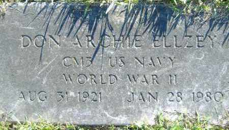 ELLZEY  (VETERAN WWII), DON ARCHIE - Poinsett County, Arkansas | DON ARCHIE ELLZEY  (VETERAN WWII) - Arkansas Gravestone Photos