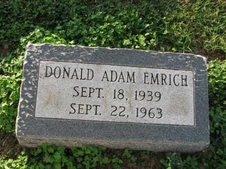 EMRICH, DONALD ADAM - Poinsett County, Arkansas | DONALD ADAM EMRICH - Arkansas Gravestone Photos