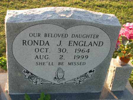 ENGLAND, RONDA J. - Poinsett County, Arkansas | RONDA J. ENGLAND - Arkansas Gravestone Photos