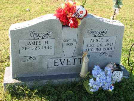 EVETT, ALICE M. - Poinsett County, Arkansas | ALICE M. EVETT - Arkansas Gravestone Photos