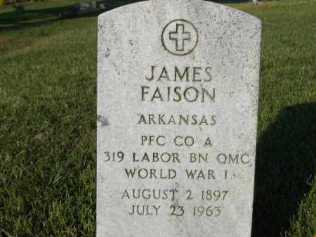 FAISON  (VETERAN WWI), JAMES - Poinsett County, Arkansas | JAMES FAISON  (VETERAN WWI) - Arkansas Gravestone Photos