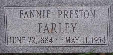 FARLEY, FANNIE - Poinsett County, Arkansas | FANNIE FARLEY - Arkansas Gravestone Photos