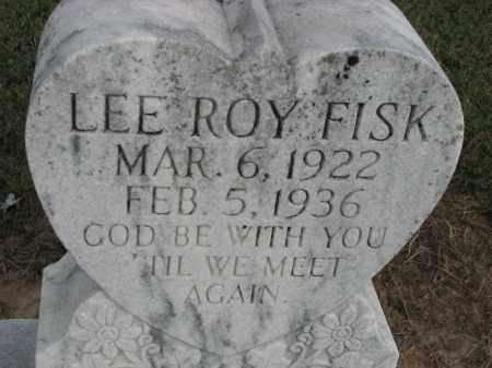 FISK, LEE ROY - Poinsett County, Arkansas | LEE ROY FISK - Arkansas Gravestone Photos
