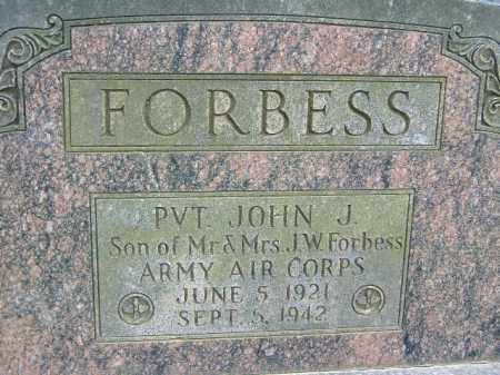 FORBESS  (VETERAN WWII), JOHN J - Poinsett County, Arkansas | JOHN J FORBESS  (VETERAN WWII) - Arkansas Gravestone Photos