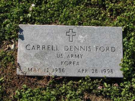 FORD (VETERAN KOR), CARRELL DENNIS - Poinsett County, Arkansas | CARRELL DENNIS FORD (VETERAN KOR) - Arkansas Gravestone Photos