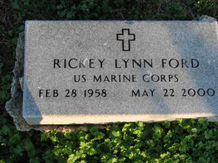 FORD (VETERAN), RICKEY LYNN - Poinsett County, Arkansas | RICKEY LYNN FORD (VETERAN) - Arkansas Gravestone Photos