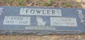 FOWLER, ANNIE - Poinsett County, Arkansas | ANNIE FOWLER - Arkansas Gravestone Photos